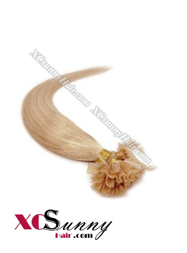 16 Inch - 26 Inch Silk Straight #16 Nail Tip Human Hair Extensions 0.5g*50s [NUTS55011]
