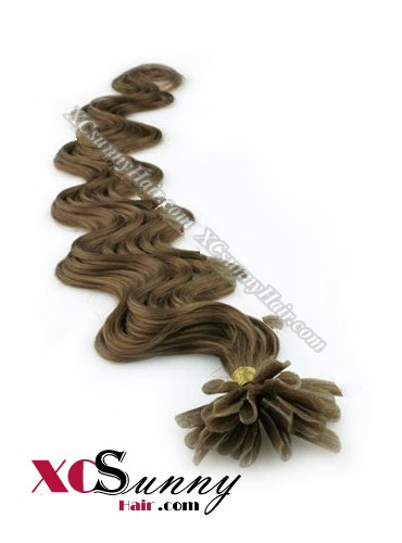 16 Inch - 26 Inch Body Wave #10 Nail Tip Human Hair Extensions 0.5g*50s [NUTB55008]