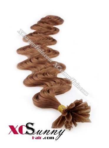 16 Inch - 26 Inch Body Wave #33 Nail Tip Human Hair Extensions 0.5g*50s [NUTB55017]