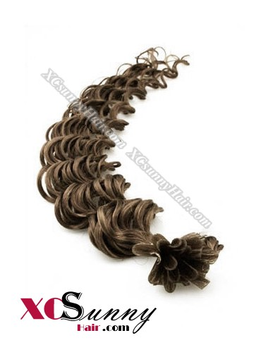 16 Inch - 26 Inch Deep Wave #10 Nail Tip Human Hair Extensions 0.5g*50s [NUTD55008]