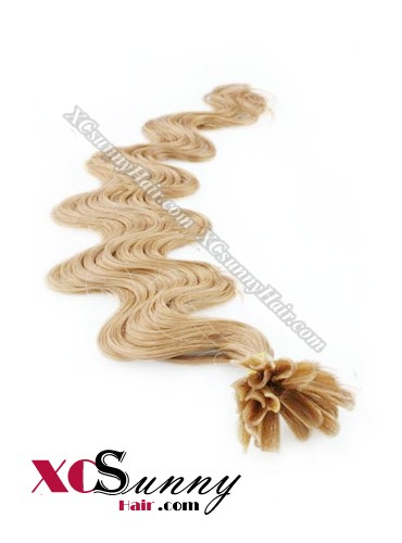 16 Inch - 26 Inch Body Wave #16 Nail Tip Human Hair Extensions 0.5g*100s [NUTB51011]