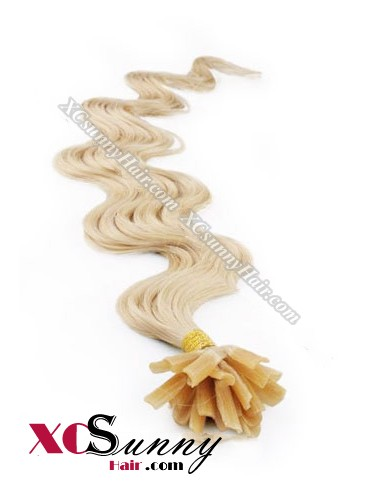16 Inch - 26 Inch Body Wave #22 Nail Tip Human Hair Extensions 0.5g*100s [NUTB51013]