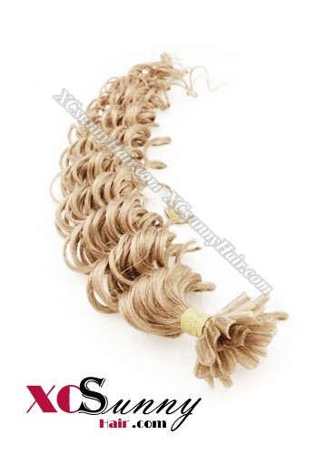 16 Inch - 26 Inch Deep Wave #16 Nail Tip Human Hair Extensions 0.5g*100s [NUTD51011]