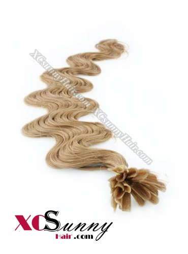 18 Inch - 26 Inch Body Wave #12 Nail Tip Human Hair Extensions 1g*100s [NUTB11009]
