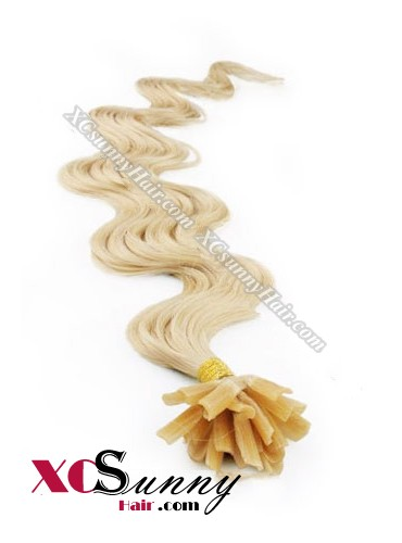 18 Inch - 26 Inch Body Wave #24 Nail Tip Human Hair Extensions 1g*100s [NUTB11014]