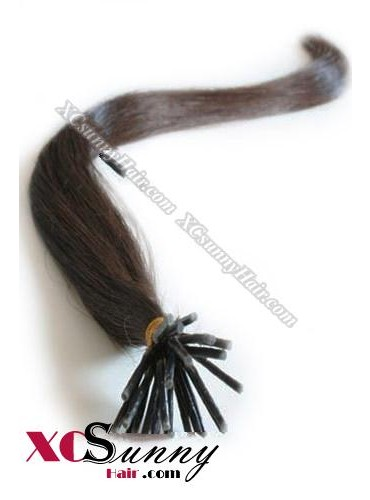 16 Inch - 26 Inch Silk Straight #3 Stick Tip Human Hair Extensions 0.5g*100s [SUTS51004]