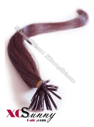 16 Inch - 26 Inch Silk Straight #99 Stick Tip Human Hair Extensions 0.5g*100s [SUTS51019]