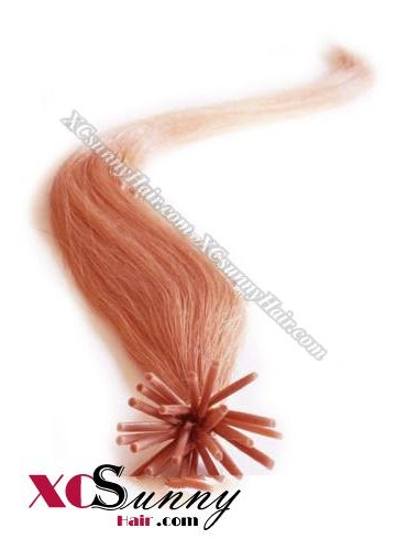 16 Inch - 26 Inch Silk Straight #130 Stick Tip Human Hair Extensions 0.5g*100s [SUTS51020]