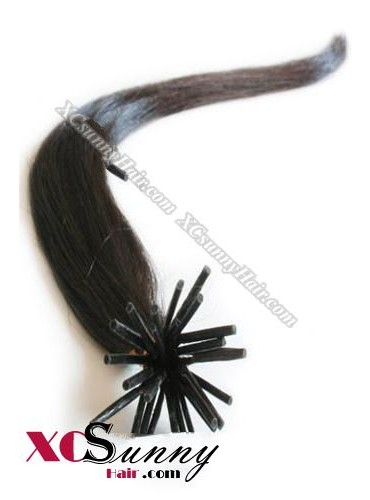 18 Inch - 26 Inch Silk Straight #2 Stick Tip Human Hair Extensions 1g*50s [SUTS15003]