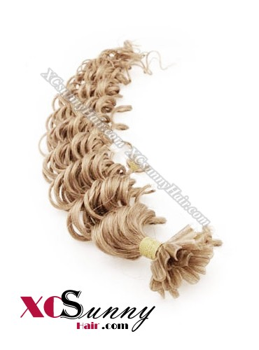 18 Inch - 26 Inch Deep Wave #27 Nail Tip Human Hair Extensions 1g*100s [NUTD11015]