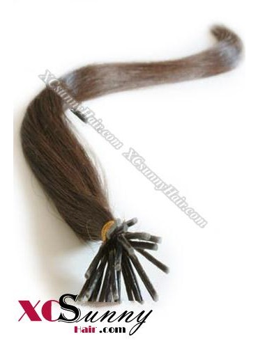 16 Inch - 26 Inch Silk Straight #4 Stick Tip Human Hair Extensions 0.5g*50s [SUTS55005]