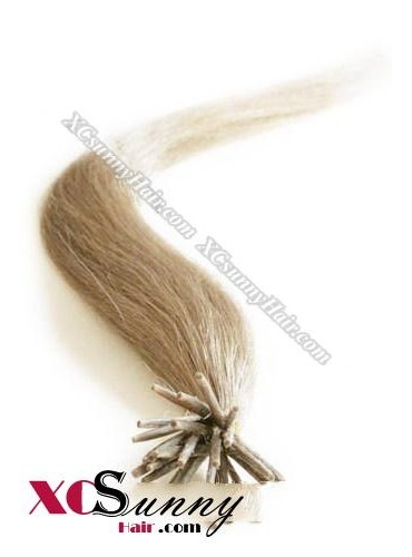 16 Inch - 26 Inch Silk Straight #12 Stick Tip Human Hair Extensions 0.5g*50s [SUTS55009]