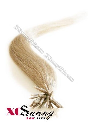 16 Inch - 26 Inch Silk Straight #16 Stick Tip Human Hair Extensions 0.5g*50s [SUTS55011]