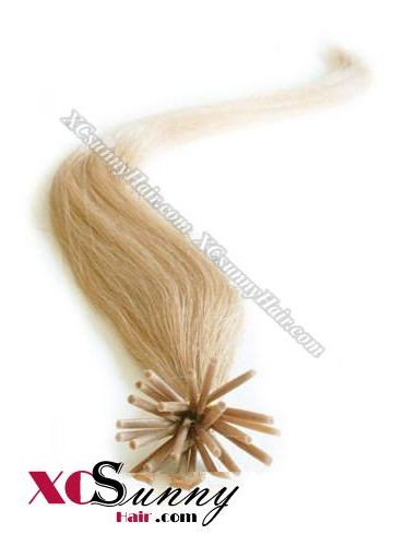 16 Inch - 26 Inch Silk Straight #27 Stick Tip Human Hair Extensions 0.5g*50s [SUTS55015]