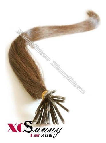 16 Inch - 26 Inch Silk Straight #30 Stick Tip Human Hair Extensions 0.5g*50s [SUTS55016]