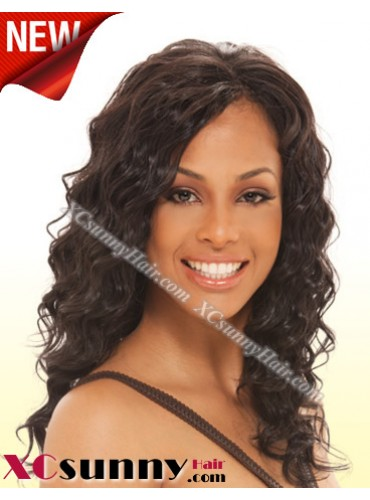 16 Inch Body Wave  #2  Glueless Full Lace  Wigs 100% Indian Remy Human Hair [GFH030]